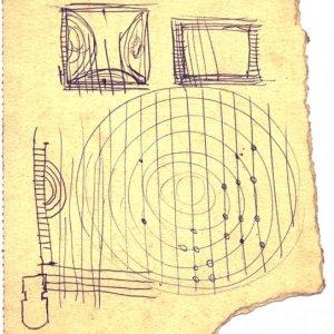 Boceto para Móvil Circular