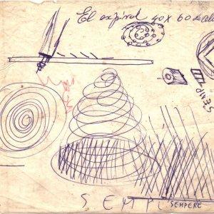 Boceto para Espiral