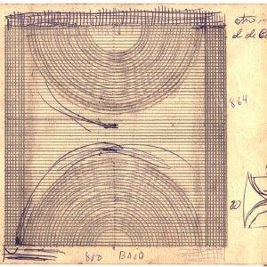 Boceto reja dos semicírculos