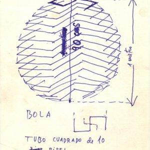 Boceto para Bola