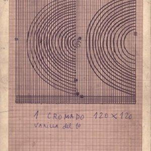 Boceto para Reja Dos Semicírculos