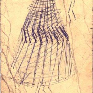 Boceto para Pirámide