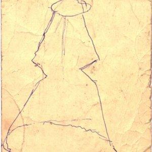 Boceto para Pirámide Truncada