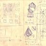 Boceto para Pirámide y Rueda