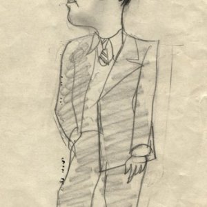 Caricatura de si mismo, 1949