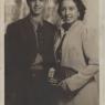 Eusebio y su hermana Concha, 1944