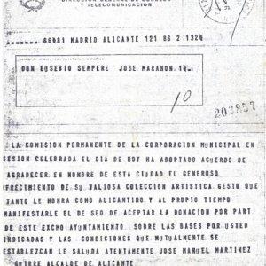 Telegrama Ayuntamiento