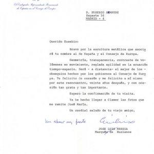 Carta Embajador