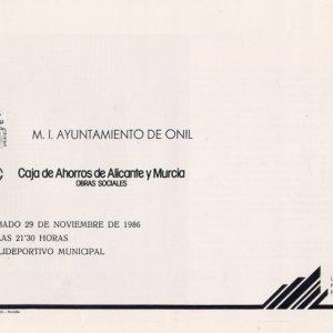 Homenaje del Ayuntamiento de Onil
