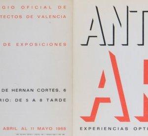 Exposición Colegio de Arquitectos de Valencia