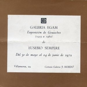 Exposición Galería Egam