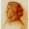 Retrato de mi madre I, ca. 1946