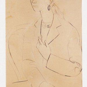 Retrato de Matilde Salvador, ca. 1950