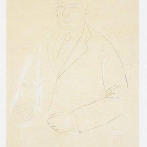 Retrato de Joaquín Rodrigo, ca. 1950