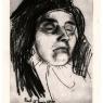 Retrato de la madre de Eusebio muerta
