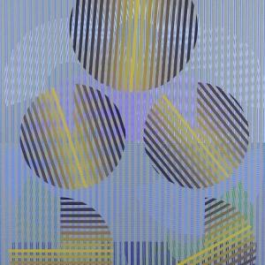 Superposición de dos serigrafías, 1977?