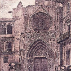 Catedral de Valencia, 1946