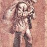Hombre con saco, 1946