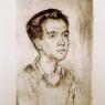 Retrato de Carlos Sentí, 1946